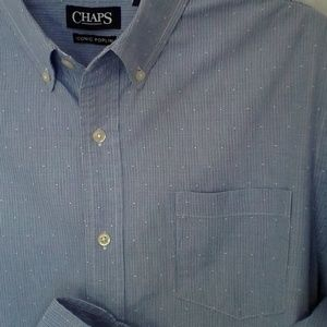 Chaps by Ralph Lauren Shirt Long Sleeve Button L